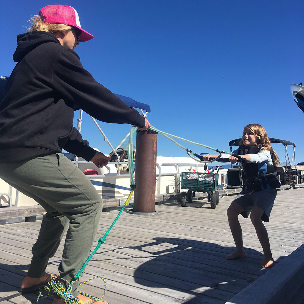 dry land waterski training