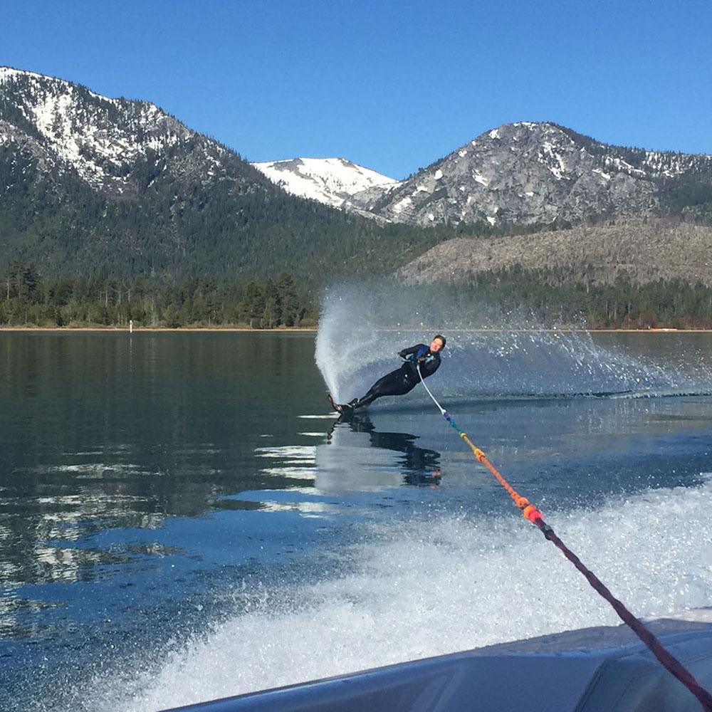 cat keenan waterski lake tahoe
