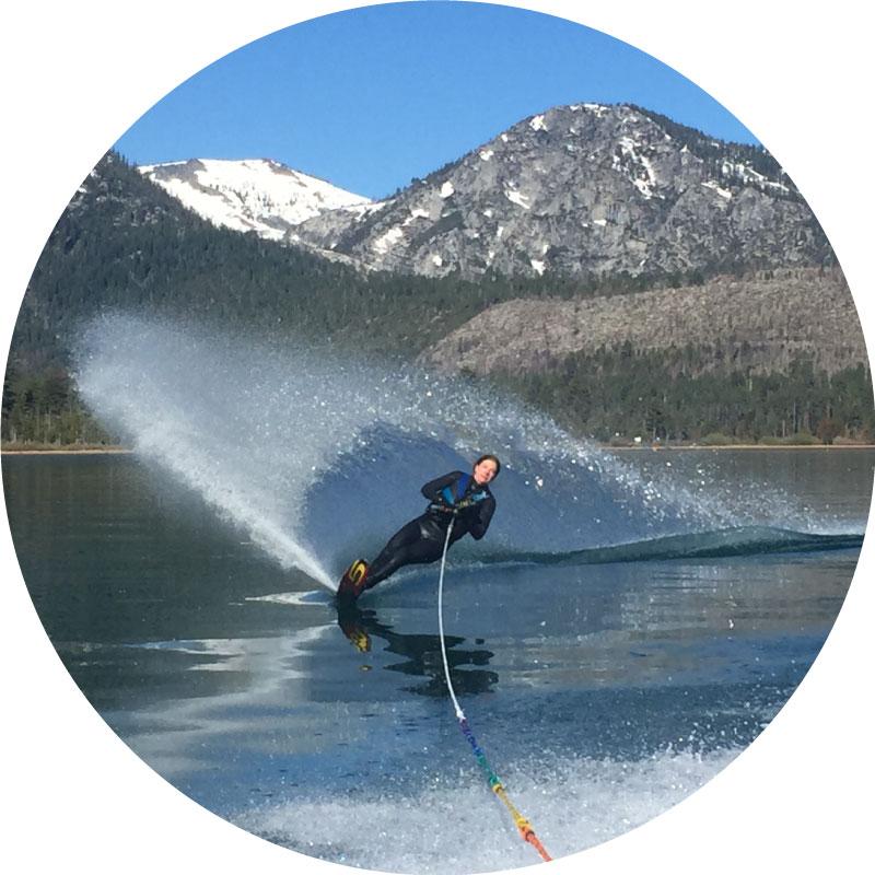 lake tahoe slalom skiing